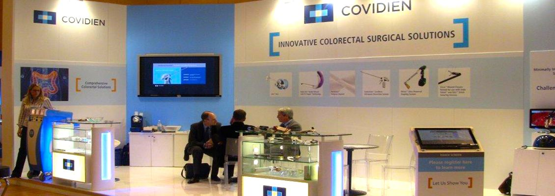 COVIDIEN - EXPO SOLUTIONS EXHIBITION STANDS